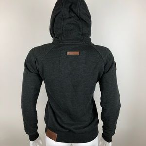 Naketano Zip Hoodie Thick French Terry Sweatshirt